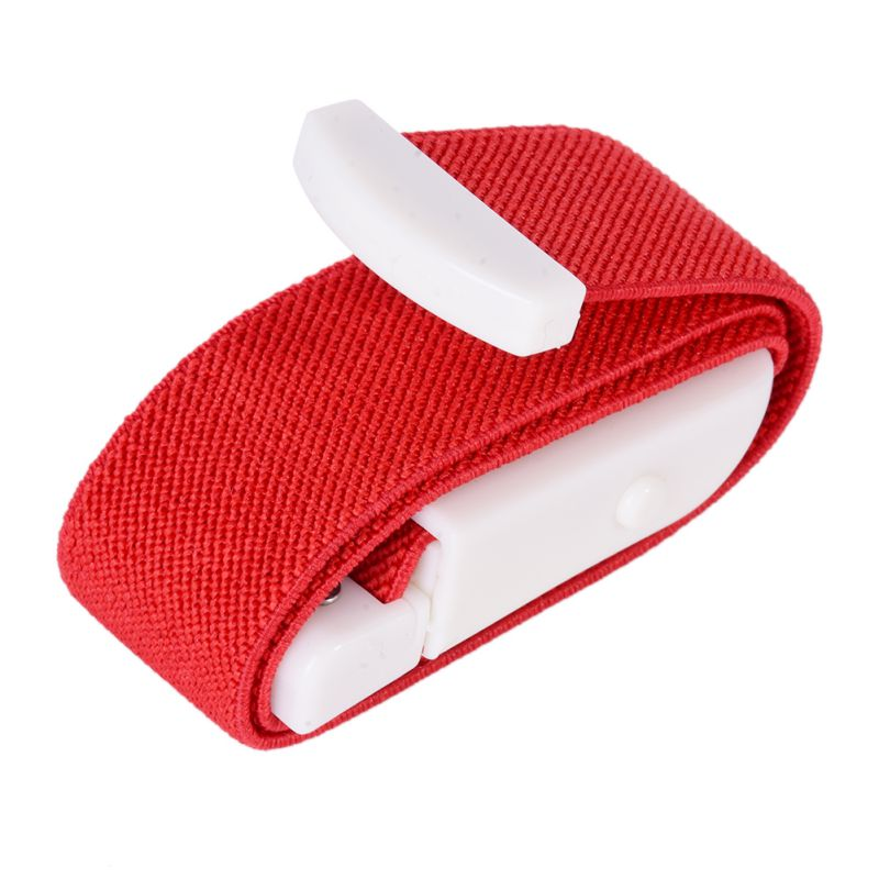 Emergency Tourniquet with Buckle Quick Slow Release Camping Medical Paramedic Sport Survival Gear SOS Rescate Blood Bend red_2.5cm*40cm