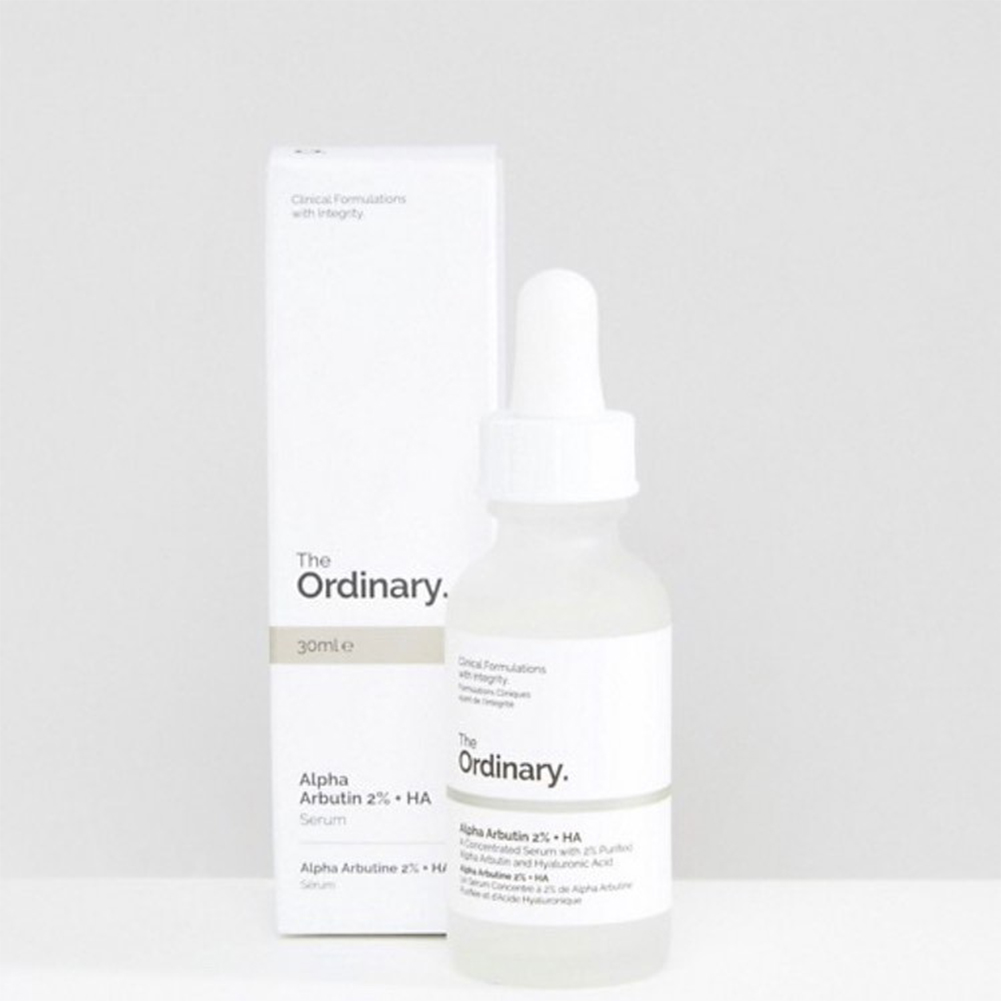 The Ordinary 30ml Serum Alpha Arbutin 2% +HA Serum Transparent_30ml