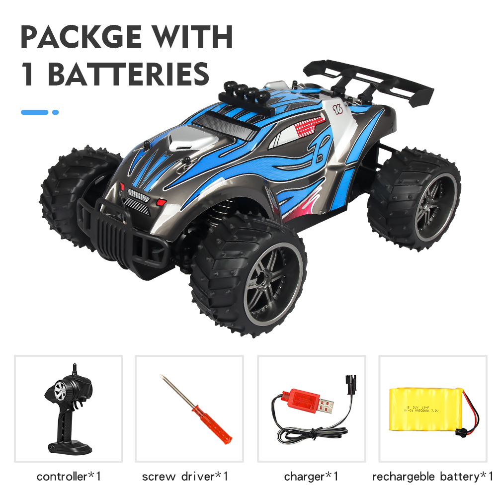 Remote Control Car X Power s-008 Blue single battery package_1:16