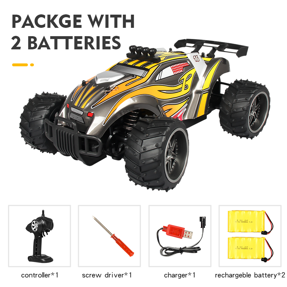 Remote Control Car X Power s-008 Yellow double battery package_1:16