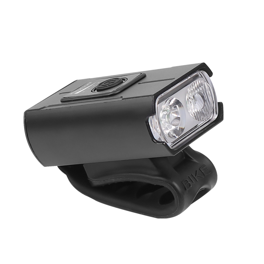 Aluminum Alloy T6 Strong Light Bicycle  Light With Built-in Battery Usb Charging Led Cycling Light Small