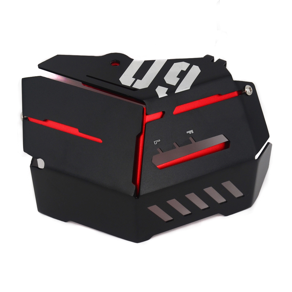 For Yamaha MT-09 FZ-09 FJ-09 MT-09 Tracer/Tracer 900 2014-2016 Motorcycle Accessories Coolant Recovery Tank Shielding Cover red