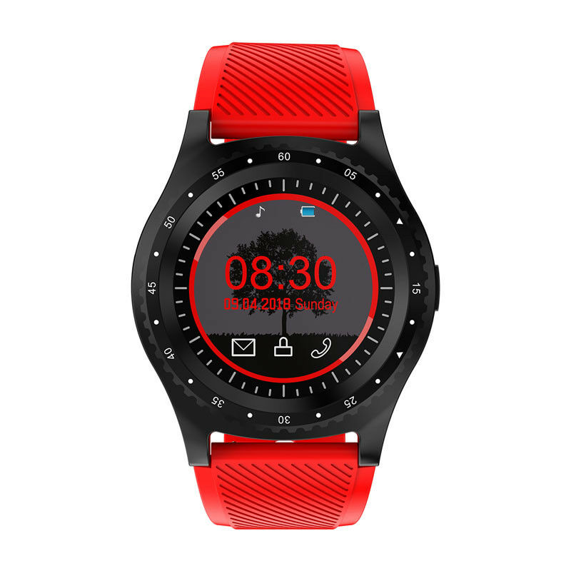 L9 Multi-functional Sport Smart Watch Information Reminder Support SIM TF Card  red