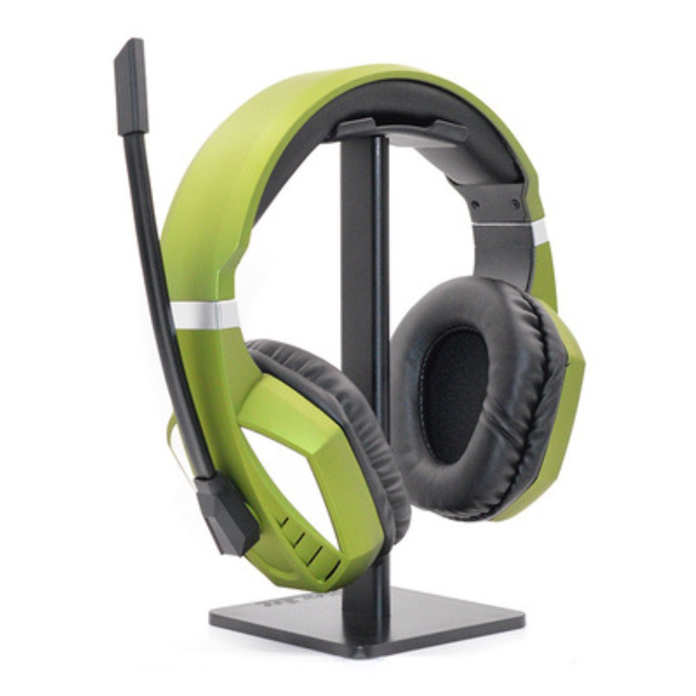 For PS4 PC Headset Electronic Sports Game Headset 3.5mm Headset Plug Dark green