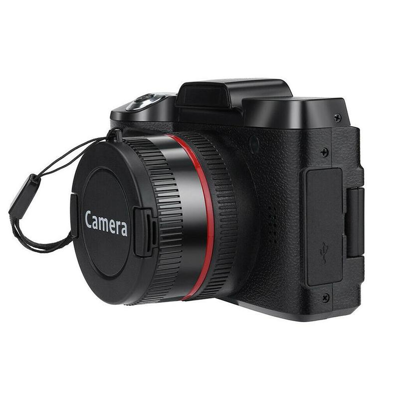 Digital Full HD1080P 16x Digital Camera Professional Video Camcorder Vlogging Camera black