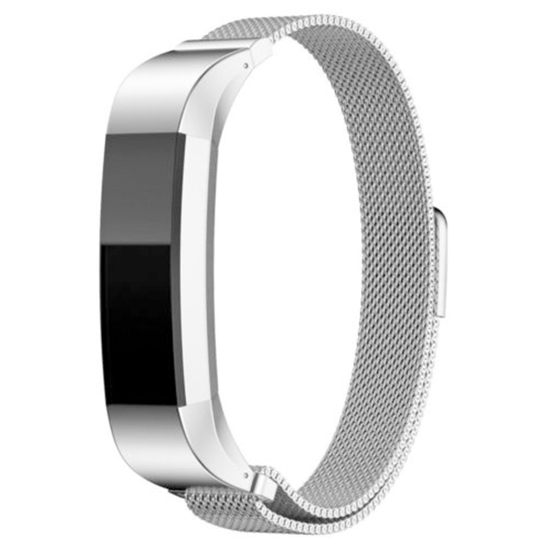 Stainless Steel Watch Strap Silver