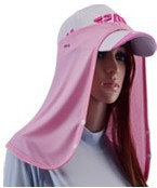 Golf Quick-Drying Breathable Ice Silk Scarf, Sun and UV Protection Scarf for Men and Women Pink
