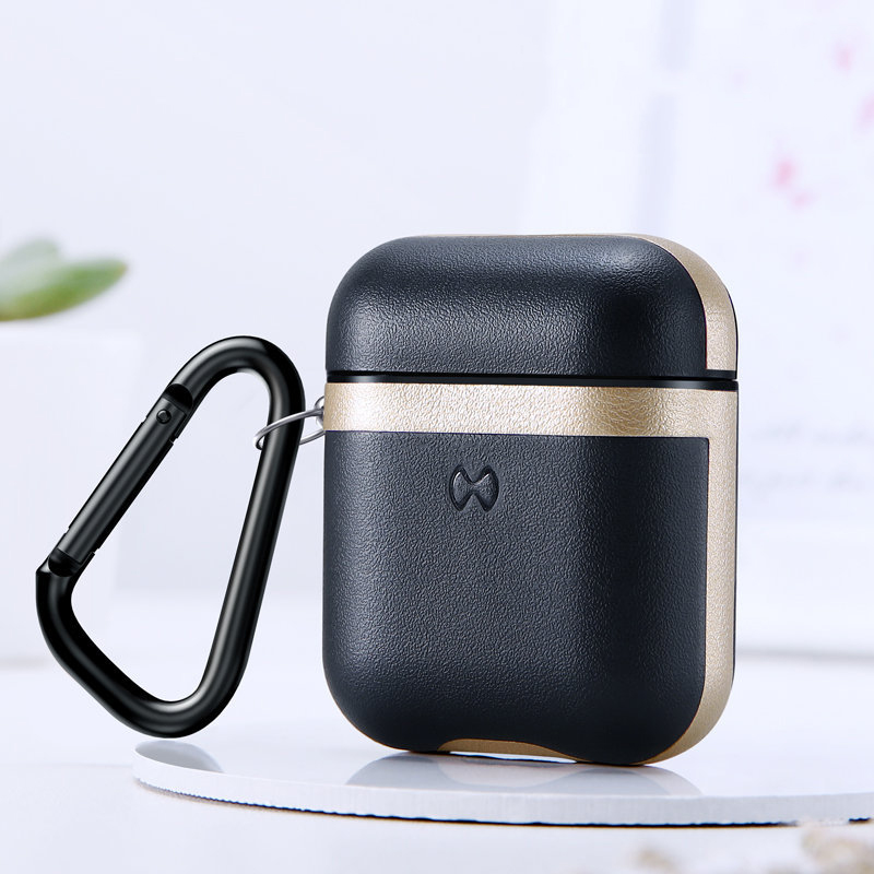 Protective Charging Case for AirPods Gold
