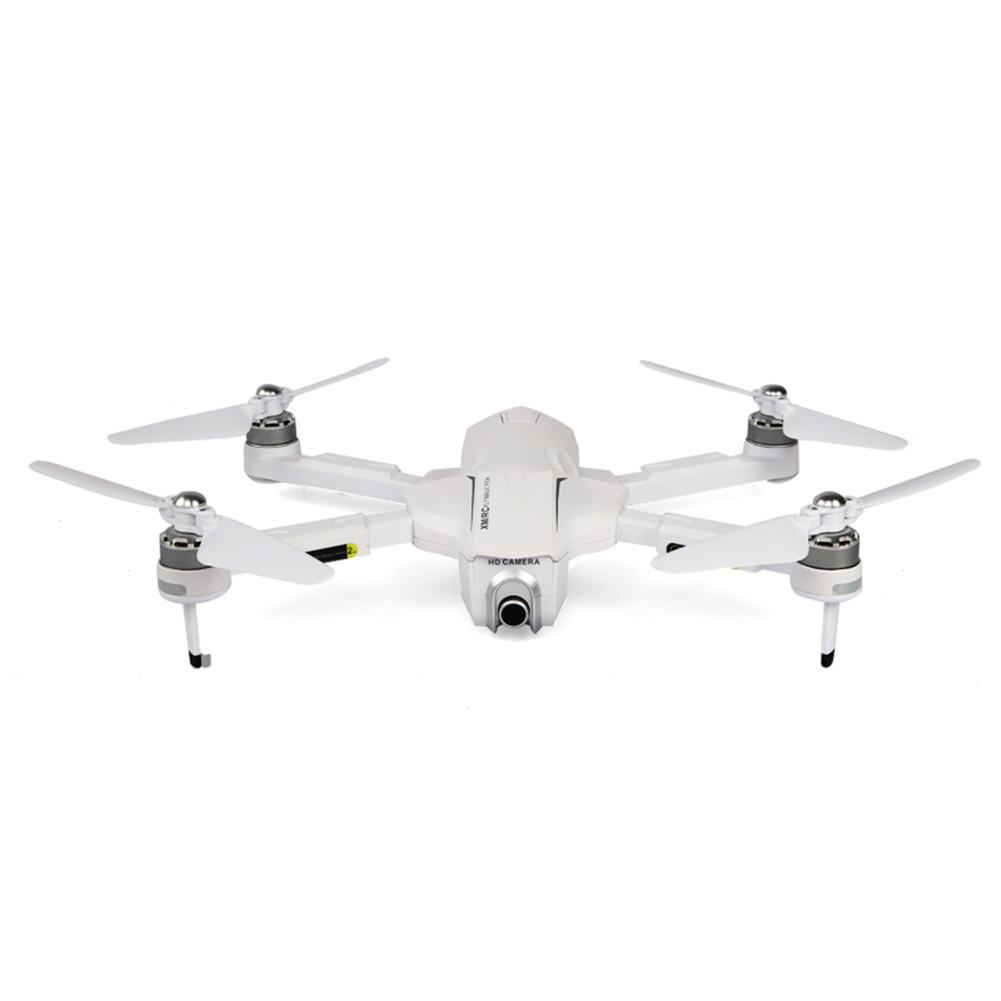 XMRC M8 RC Drone 5G WIFI FPV GPS 4K Ultra HD Camera 30 Mins Flight Time Brushless Motor Foldable Quadcopter RTF With Bag white