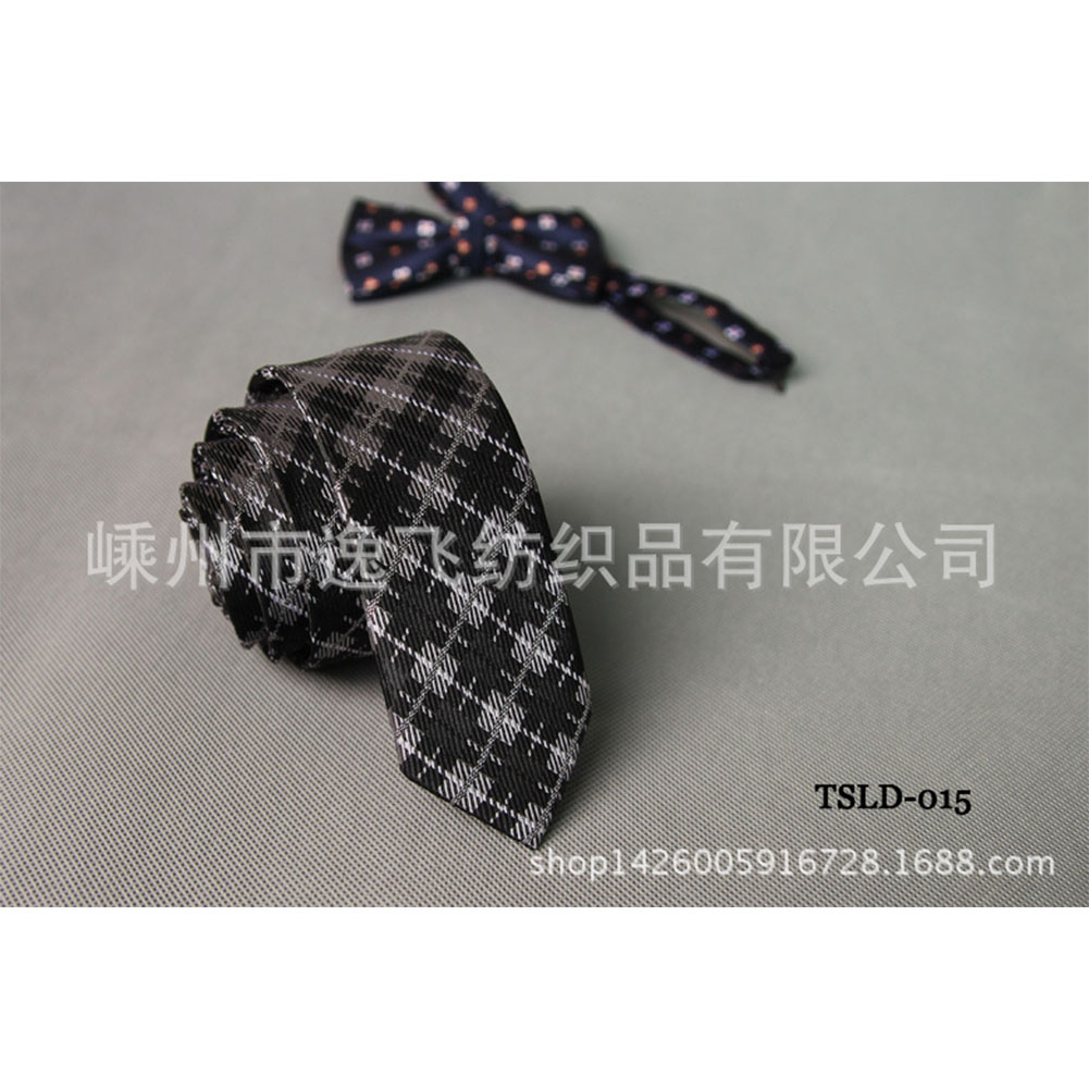 5cm Skinny Tie Classic Silk Solid Dot Narrow Slim Necktie Accessories Wedding Banquet Host Photo TSLD-015