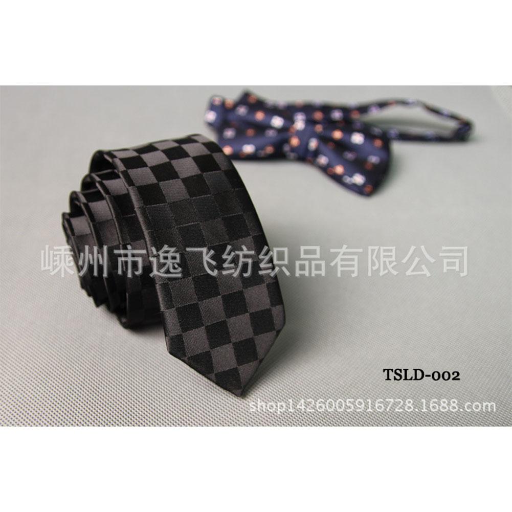 5cm Skinny Tie Classic Silk Solid Dot Narrow Slim Necktie Accessories Wedding Banquet Host Photo TSLD-002