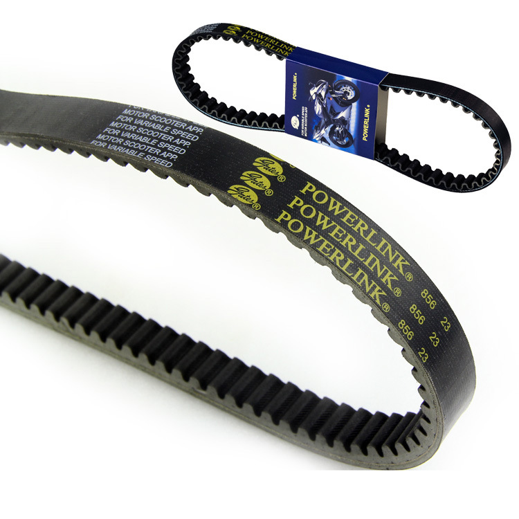 Gates Powerlink 856*23 CVT Belt for Yamaha Majesty 250 300 Clutch Drive Belt black
