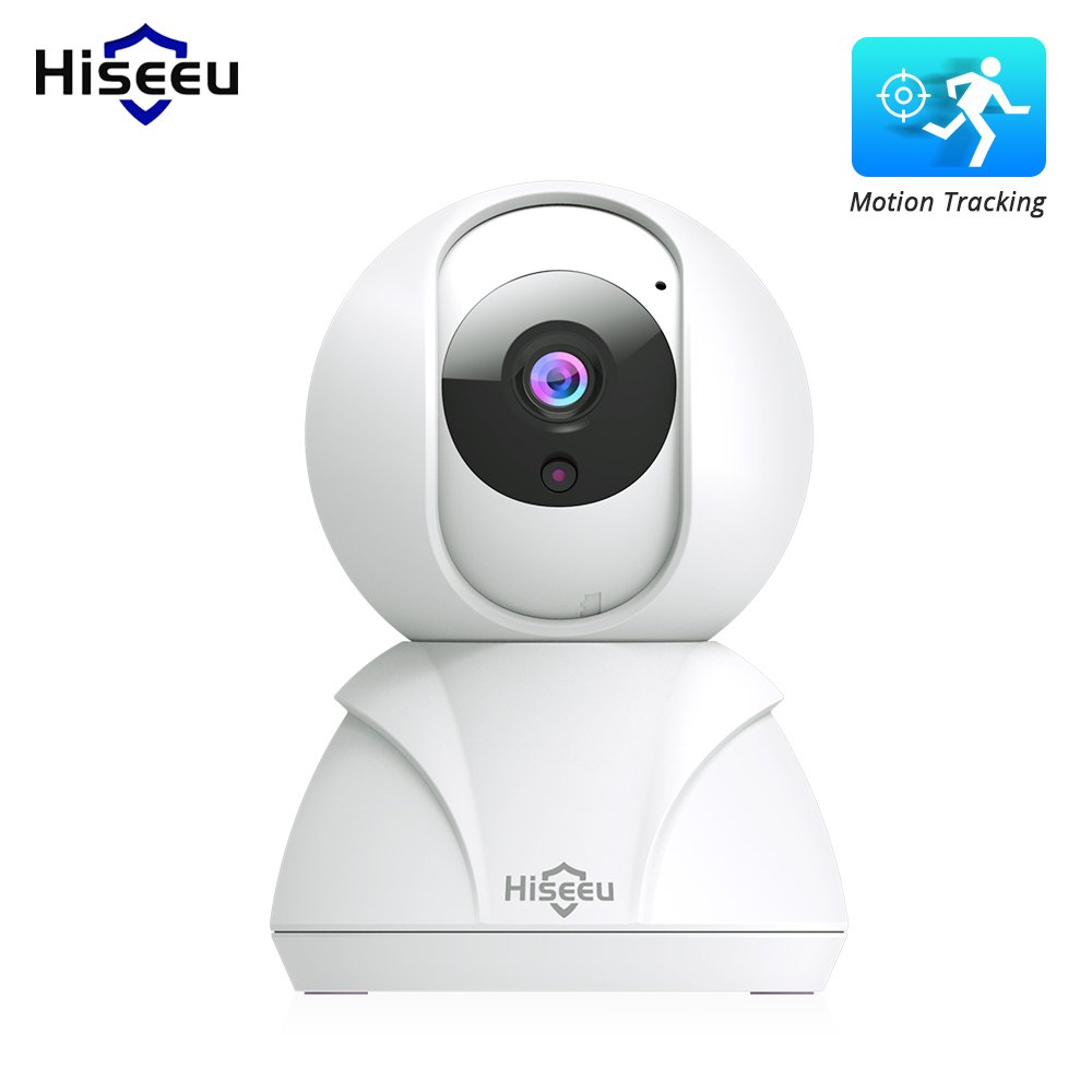 Hiseeu 720P / 1080P Home Security IP Camera Wireless Smart WiFi Camera Audio Record Baby Monitor HD Mini CCTV Camera AU plug