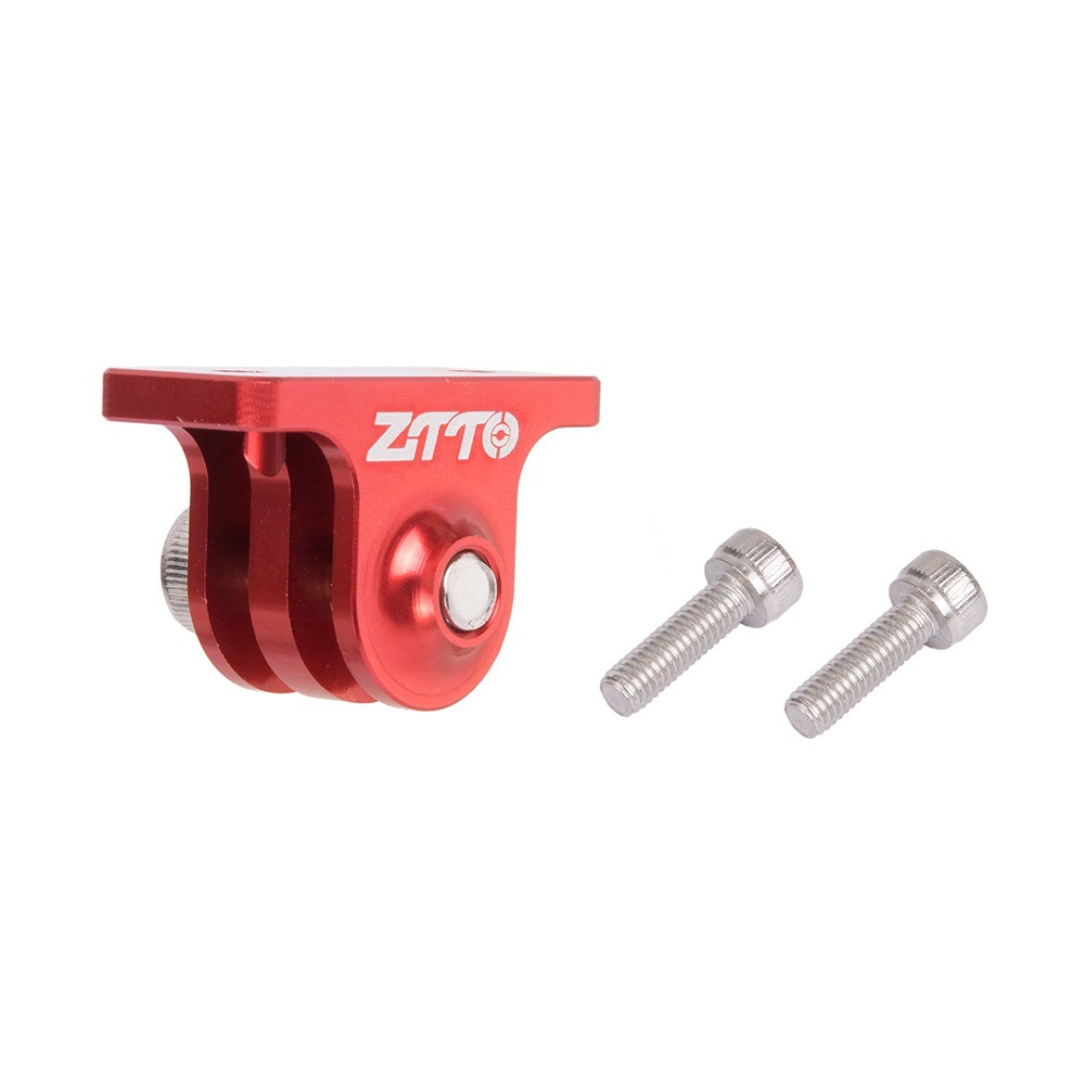 ZTTO Bryton Speedmeter Fixed Base GOPRO Camera Support Camera Bracket red
