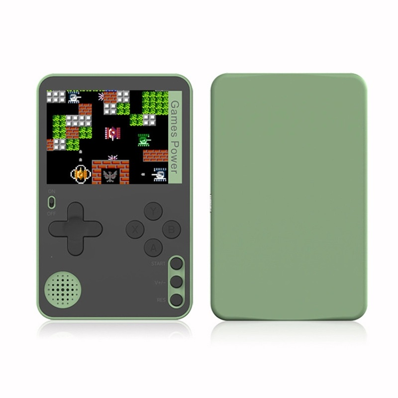 K10 Handheld Video Games Console Built-in 500 Retro Classic Games Gaming Player Mini Pocket Gamepads green