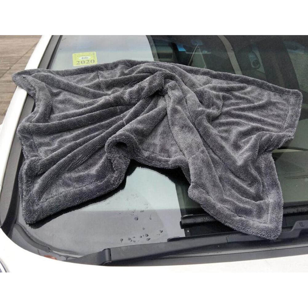 Car Cleaning Drying Cloth Universal Double Side Thicken Absorbent Towels 60 * 90CM