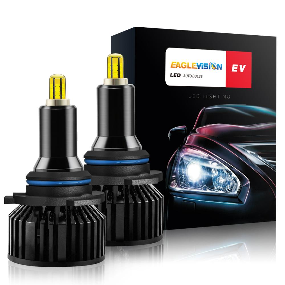 1 Pair Aluminum V8 Led Car Headlights Led Headlights Bulbs Car High Power Headlight 9006