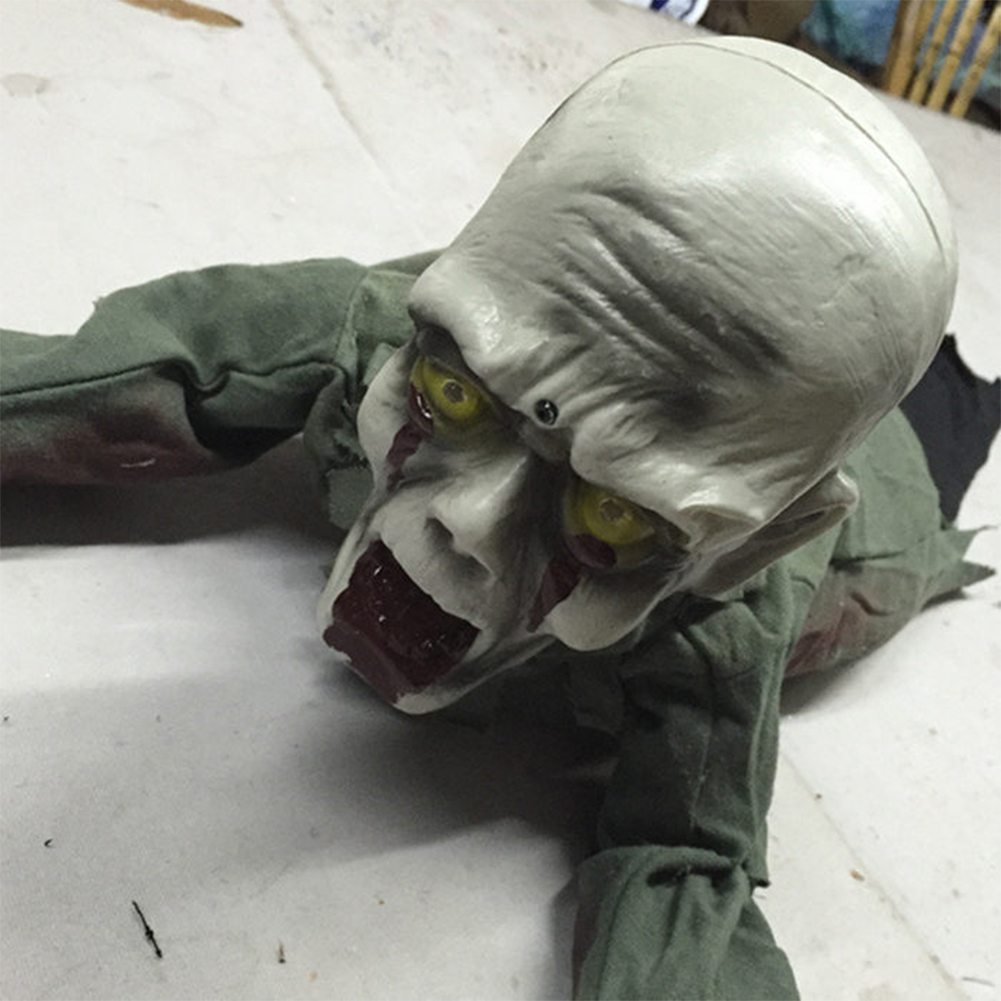 Halloween Decoration Props Ghost Festival Toys KTV Induction Electric Creepy Bar Haunted House Horror Retriever Ghost Picture color