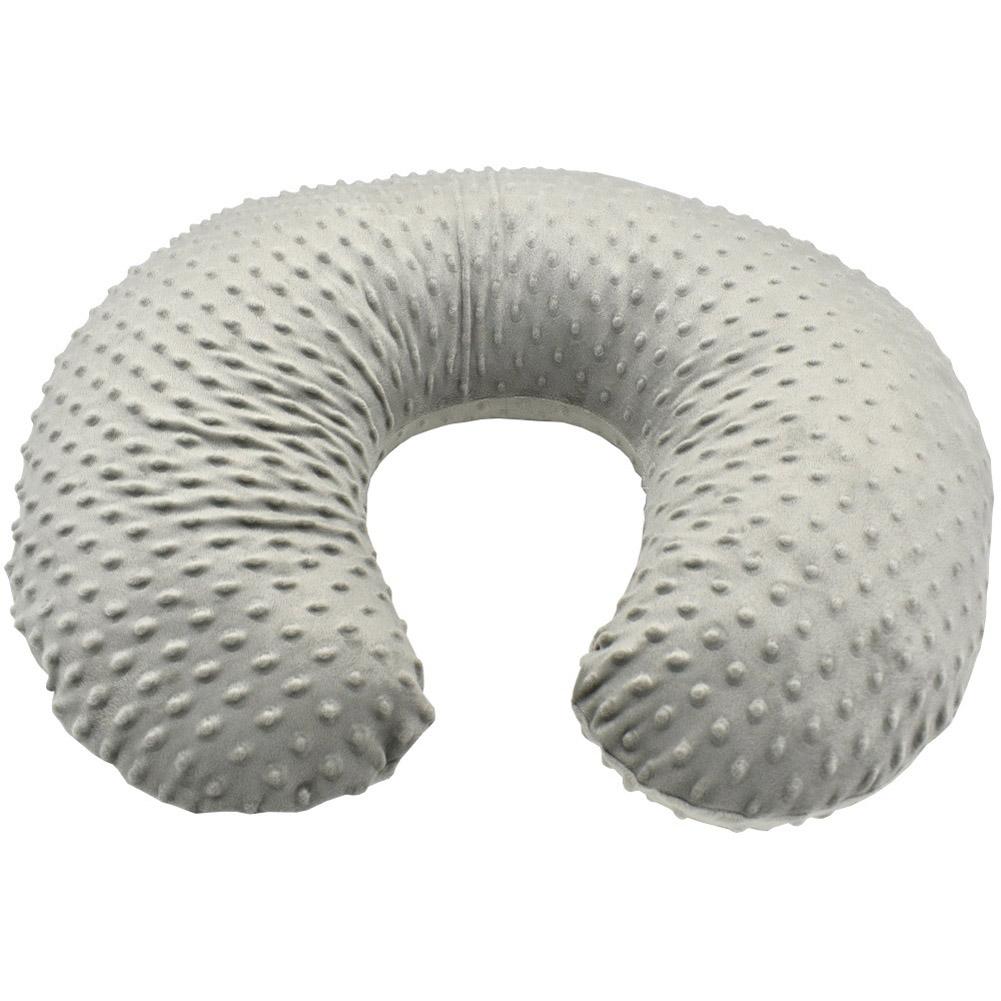Nursing Pillow Cover Breastfeeding Pillow Slipcover Fits u-type Nursing Pillow for Baby Boy Girl gray