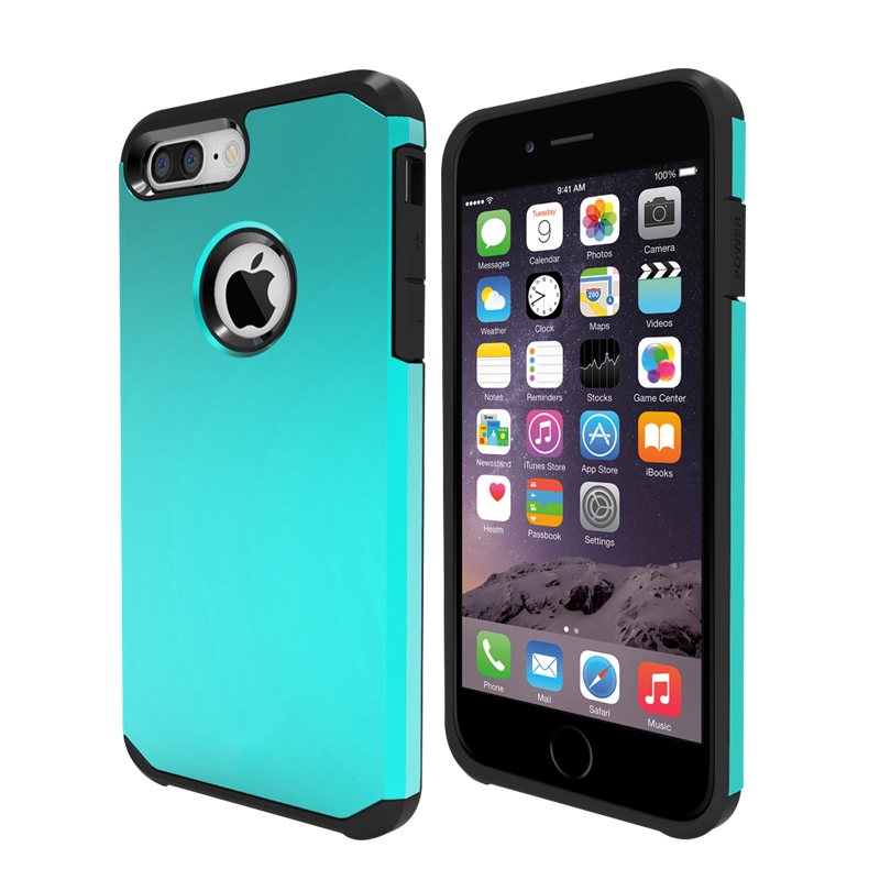 [US Direct] Smooth iPhone7 Plus Case Slim Armor Back Case for iPhone7 Plus Grey