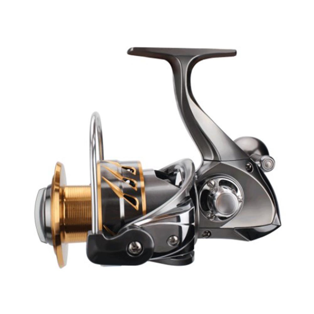 Spinning Fishing Reel 11+1BB Steering-wheel Crap CNC Handle Reel  8000D aluminum alloy spinning wheel