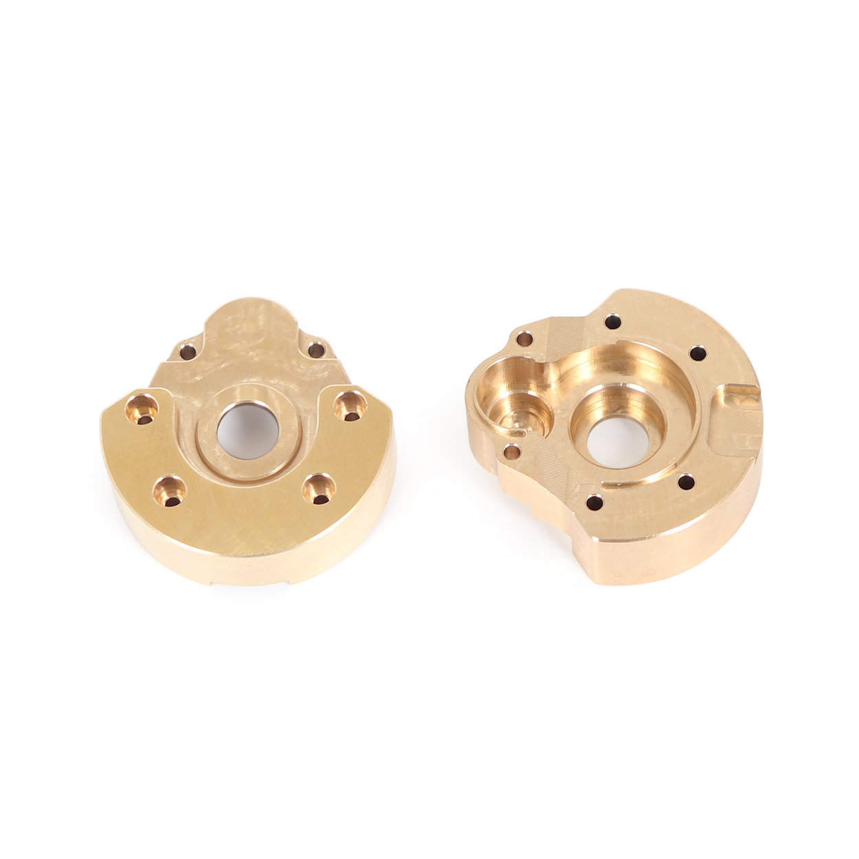 Front Rear Wheel Counterweight Cover Brass Knuckle for Redcat GEN8 RC Car Parts Accessories Gold