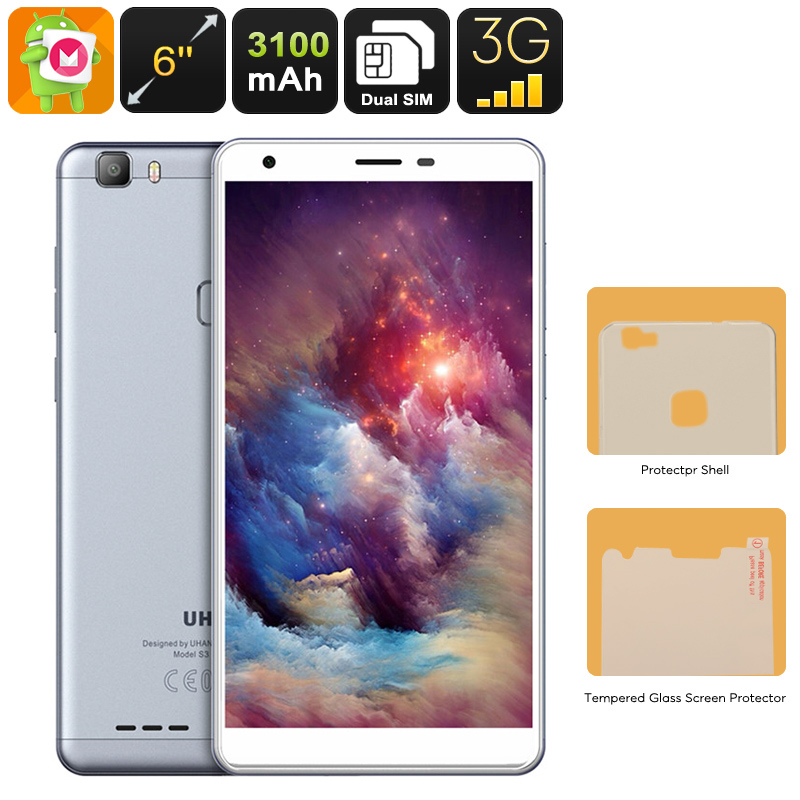 Uhans S3 Android Smartphone (Grey)