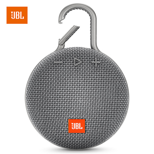 JBL Clip 3 Portable Bluetooth Speaker Mini Waterproof Wireless Outdoor Sport Colorful   gray