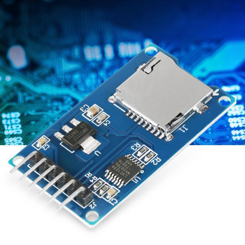 5pcs / Lot Memory Card Reading Module Mini TF Card Adapter blue