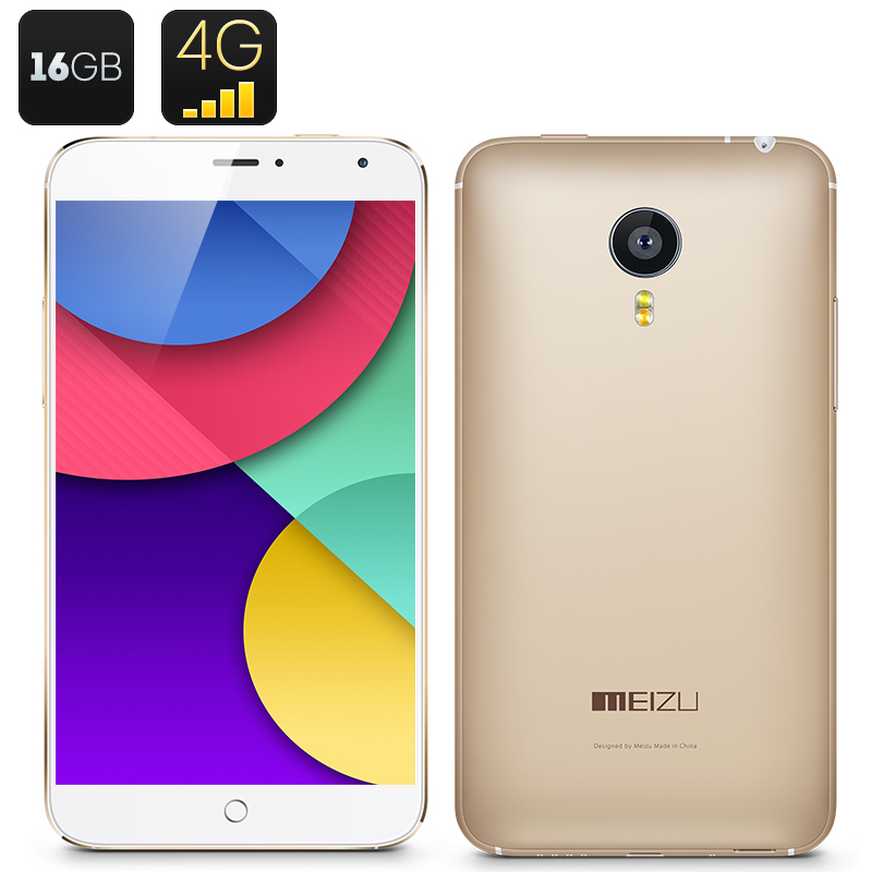 Meizu MX4 4G Smartphone 16GB (Golden)