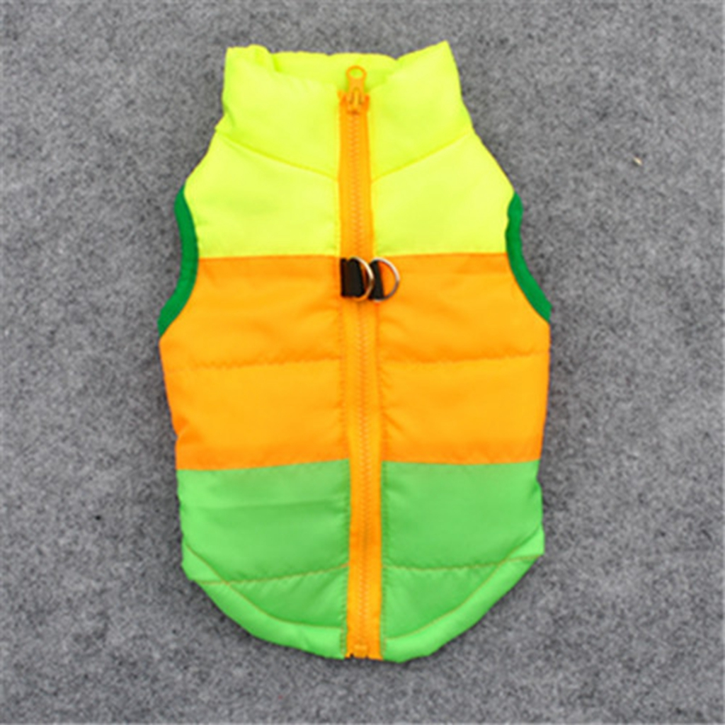 Fashion Winter Warm Green Camouflage Puppy Pet Dog Clothes Harness Vest Jacket Coat Pets Clothing XS