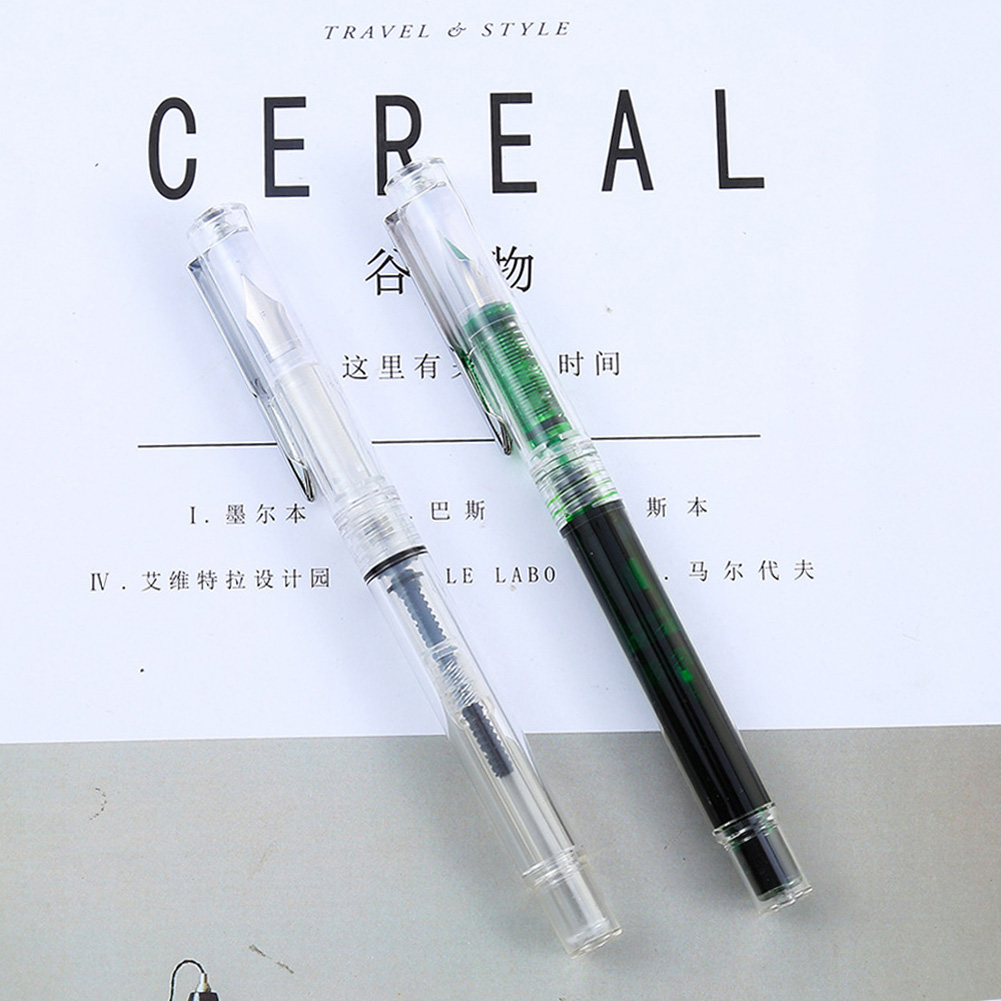 F10 Transparent Pen for School Student Stationery Office Supplies Transparent_EF tip
