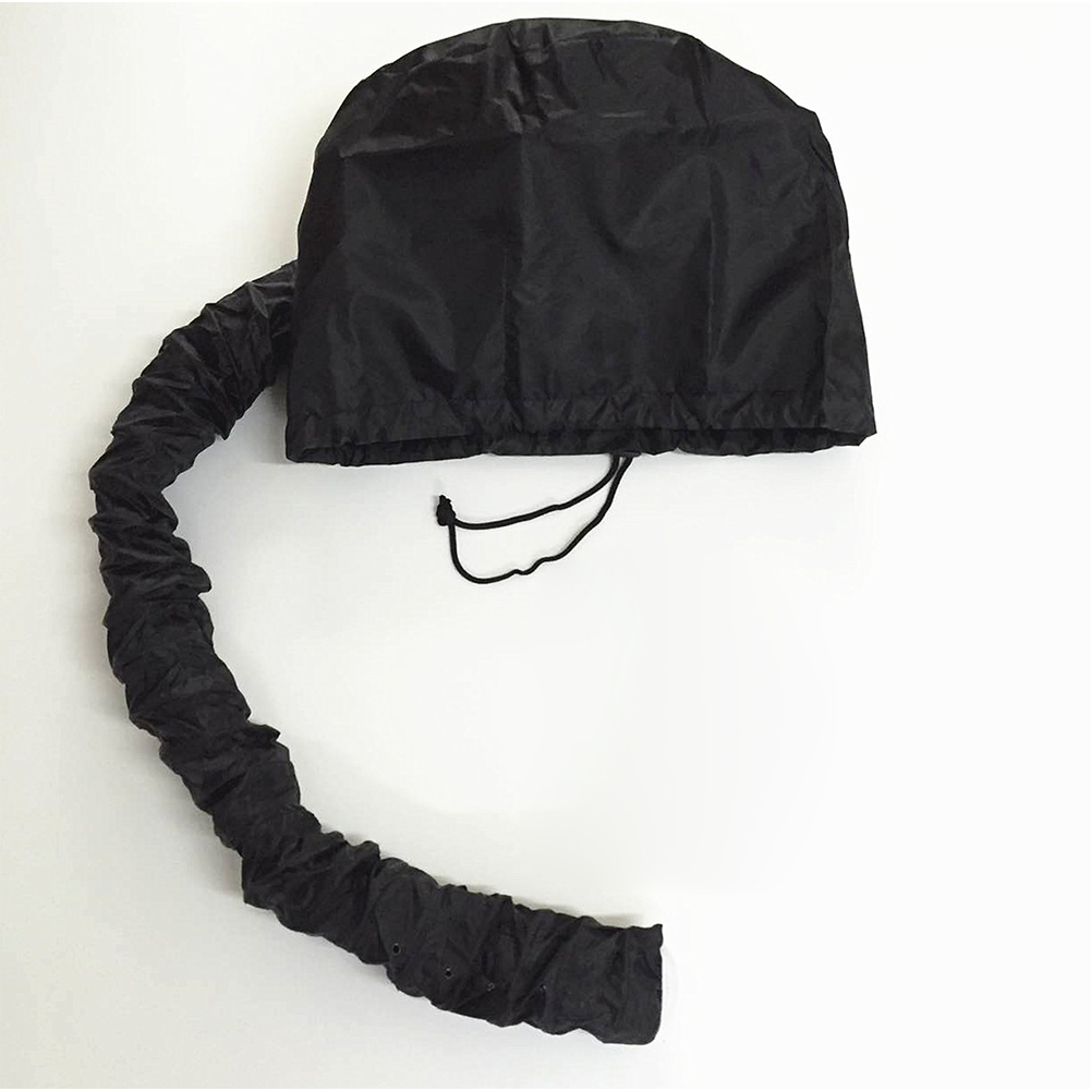 Hair Dryer Bonnet Hair Oil Heating Cap Drying Deep Conditioning Hair Care Styling Cap with Hose  Black_23*26