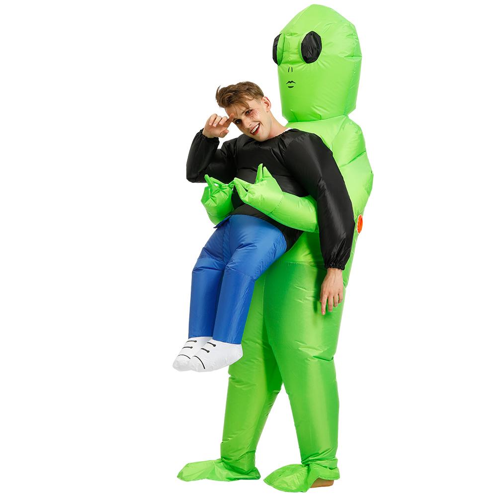 ET Alien Inflatable Clothing Adult Children Funny Show Props Clothes adult