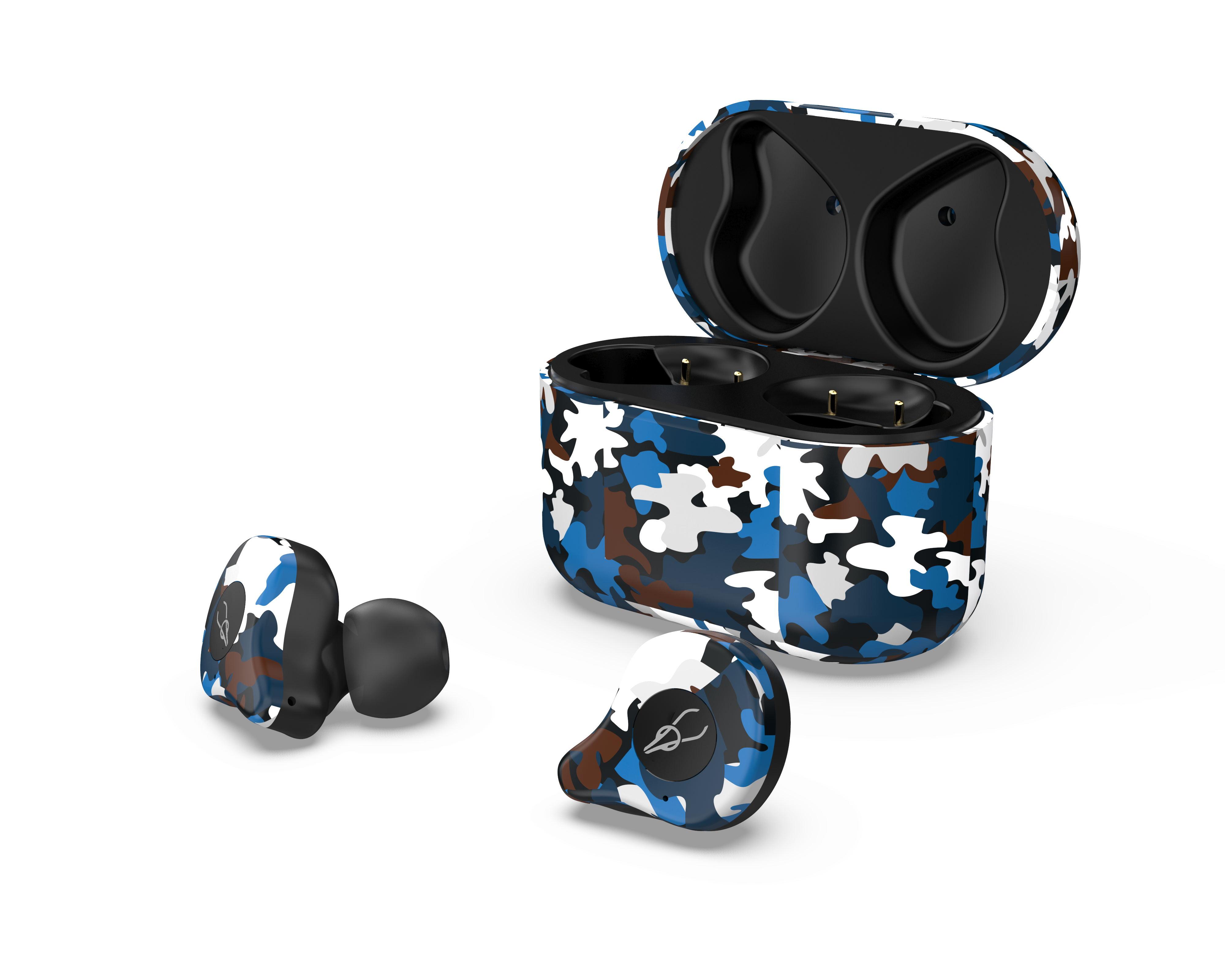 Sabbat E12 Ultra Camouflage TWS Bluetooth 5.0 Earphone Stereo Wireless Sport Earbuds Caribbean