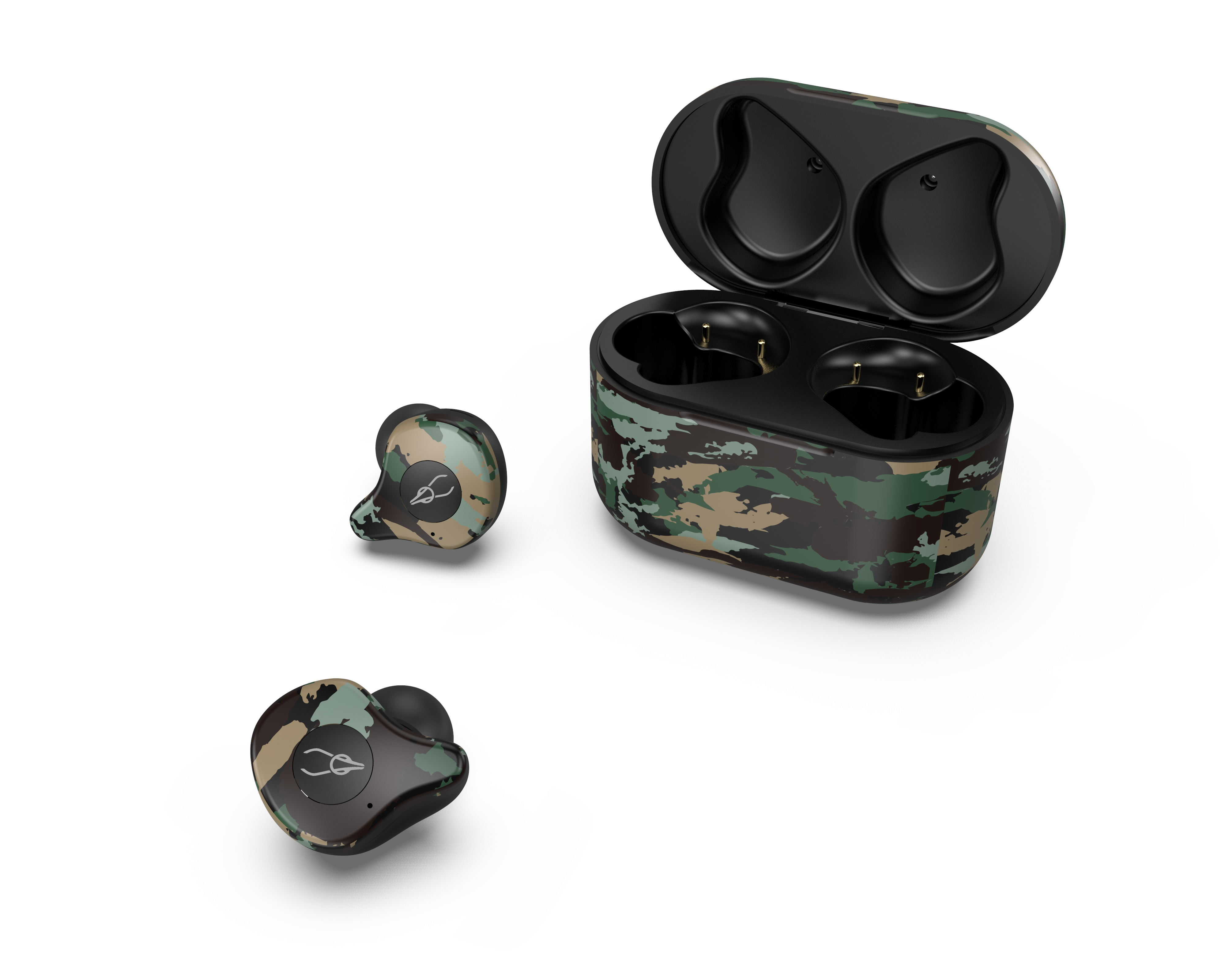 Sabbat E12 Ultra Camouflage TWS Bluetooth 5.0 Earphone Stereo Wireless Sport Earbuds Amazon