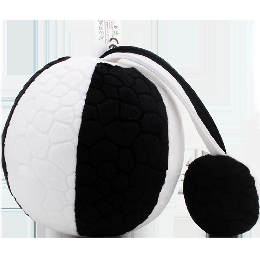 Baby Eyesight Training Chasing Ball Puzzle Early Education Toy Catching Ball black