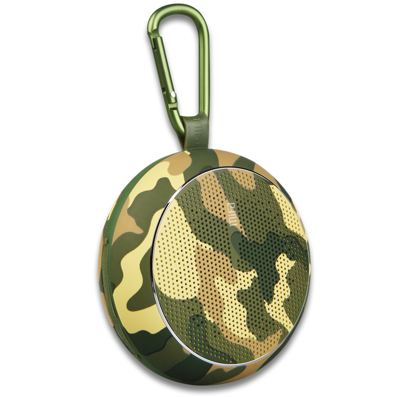 Outdoor Mini Creative Cute Wireless Bluetooth 4.0 Speaker Portable Heavy Bass Sound Box Camo