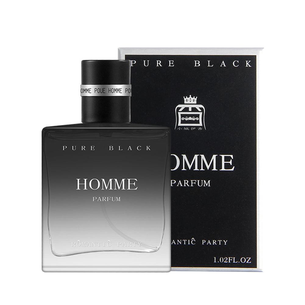30ml Perfume Men Long Lasting Fragrance Mini Bottle Male Parfum Glass Bottle Fragrances 031 confident men [black] 30ml