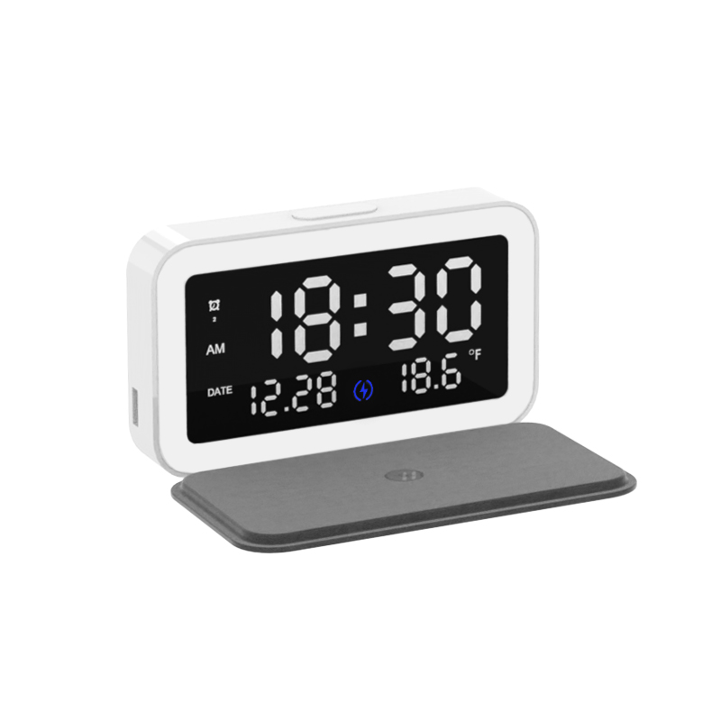 Multifunctional Type-c 6-in-1 15w Wireless  Charger Rechargeable Perpetual Calendar white