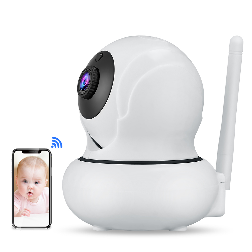 WANSCAM K21 HD 1080P Wireless WIFI 3X Zoom Smart Camera Face Tracking Camcorder Home Camera UK plug