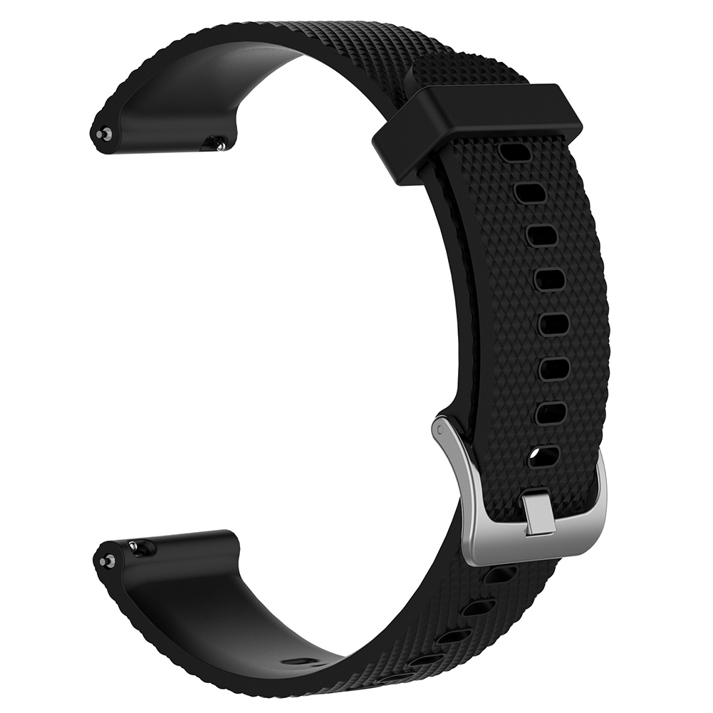 For Ticwatch c2 Smart Watch Replacement Solid Color Silicone Strap Wristband black