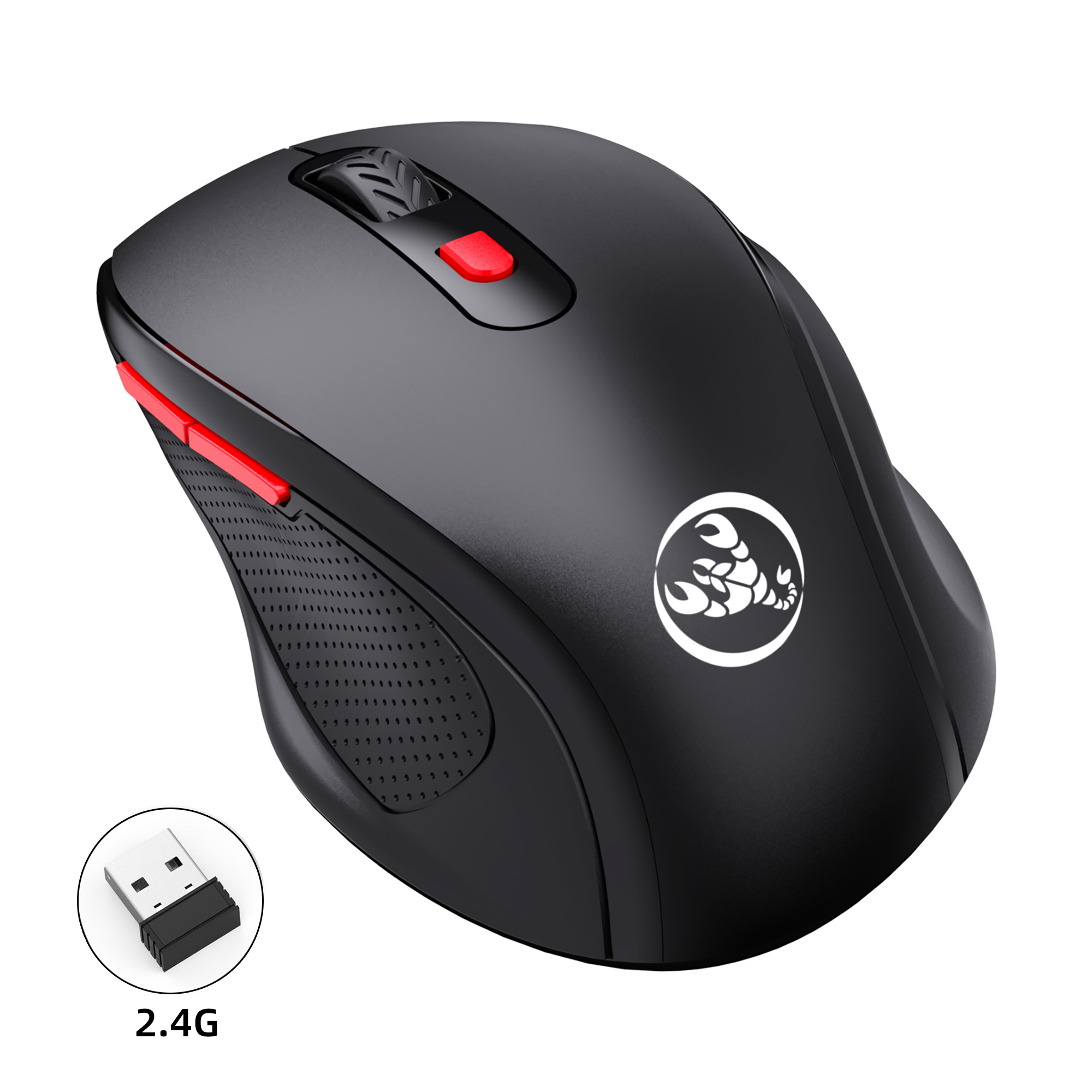 T67 2.4g Office Usb Wireless Mouse 6 Buttons 1600dpi Adjustable For Notebook Desktop Computer Mouse Bluetooth