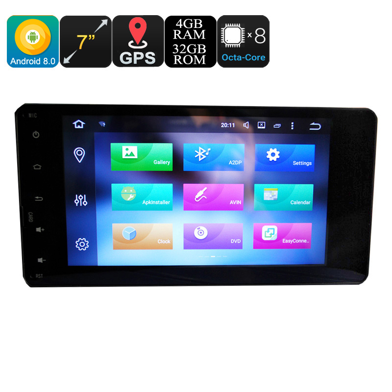 Mitsubishi 2 Din Car Media Player