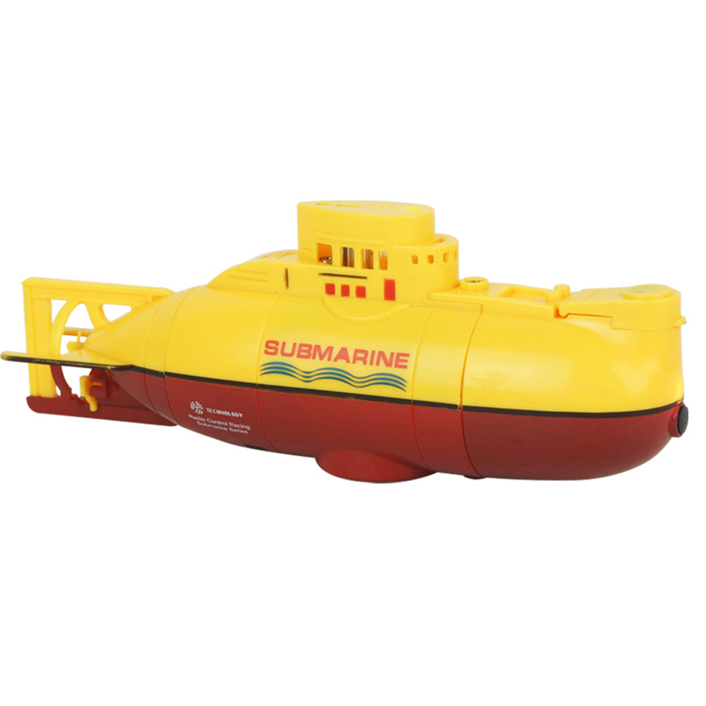 Mini RC Submarine Ship yellow