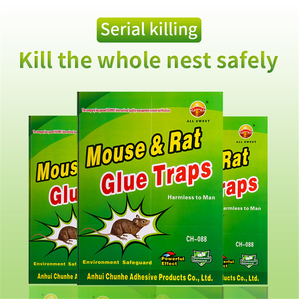 Mousetrap Sticky Glue Board Rodent Killer Pest Controller For Garage Office Warehouse Farm Factory Household 1pcs