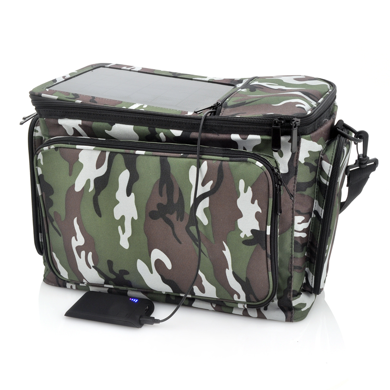 Thermal Bag with Solar Panel + Backup Battery