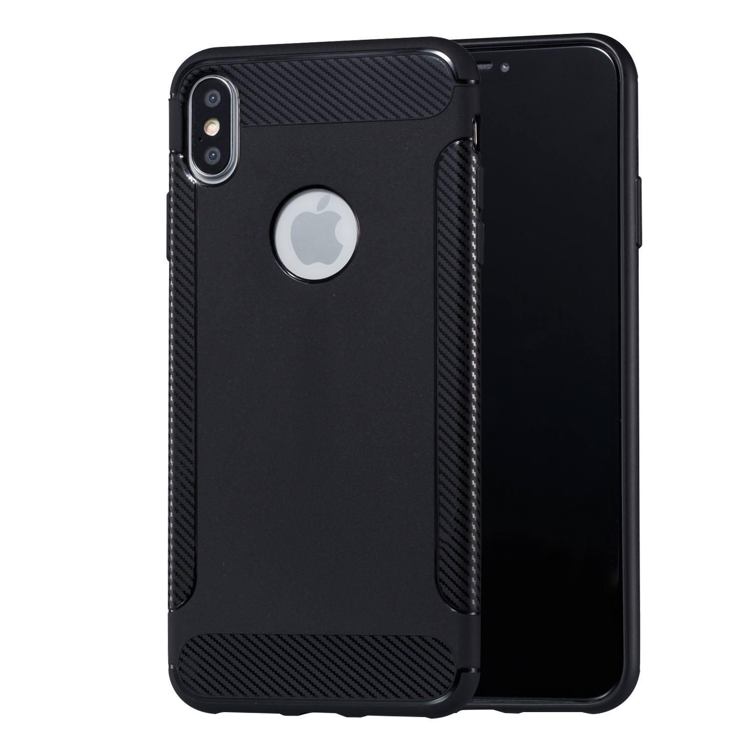 Shockproof Black Case for Iphone XS Max