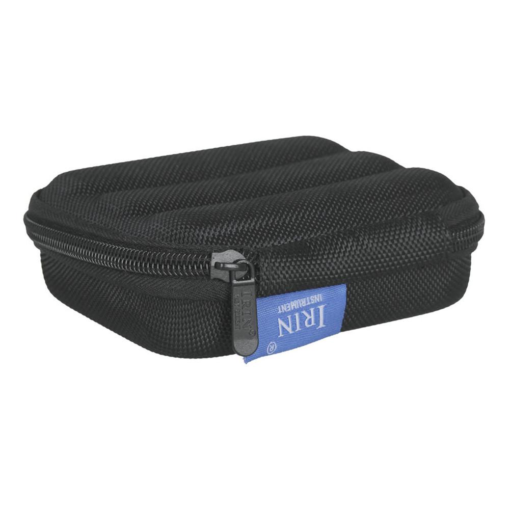 10-hole Harmonica Case Mouth Organ Box Storage Pack Waterproof Thick Sponge Liner black