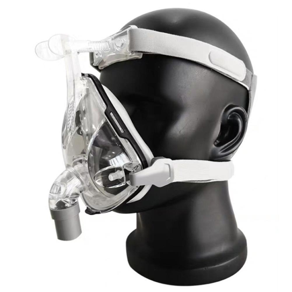 Universal CPAP Face Mask Silicone Respirator Ventilator Mask with Headgear M (medium)